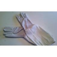 Včelárske rukavice kožené jelenica č. 10