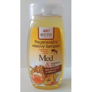 Regeneračný vlasový šampón MED a Koenzym Q 10 - 260 ml