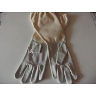 Včelárske rukavice kožené č. 7