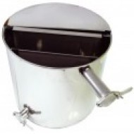 Nerezová nádoba 50 L s 2 x ventilom a dvojitým sitom
